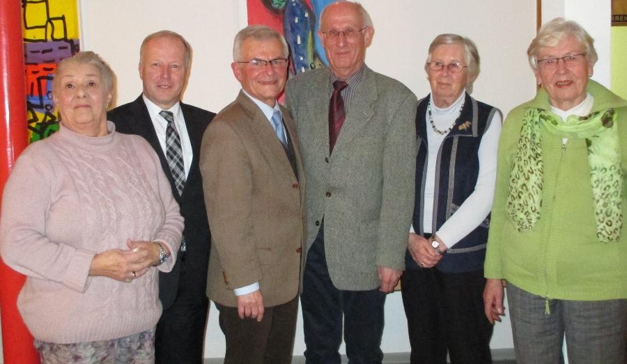 Renate Kopf,  Peter Weiß, MdB , Klaus Lebfromm, Albrecht Irmler, Margret Imhof u.Sigrid Lebeda.